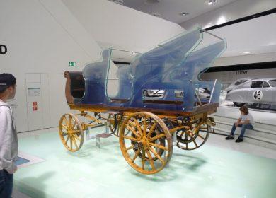 Pierwszy samochód Porsche – Porsche P1 z 1898 roku